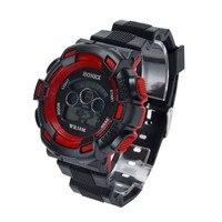 Waterproof Children Boys Three-eye camouflage electronic watch Digital LED Sports Watch Kids Watch Gift  Relogio Clock reloj Q