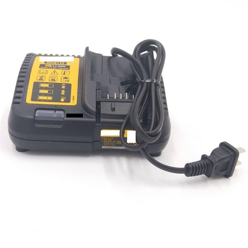 AC Carregador 220V para Dewalt Carregador DCB115 DCF887 DCF880 DCF835 DCF825 DCF815 Máquina