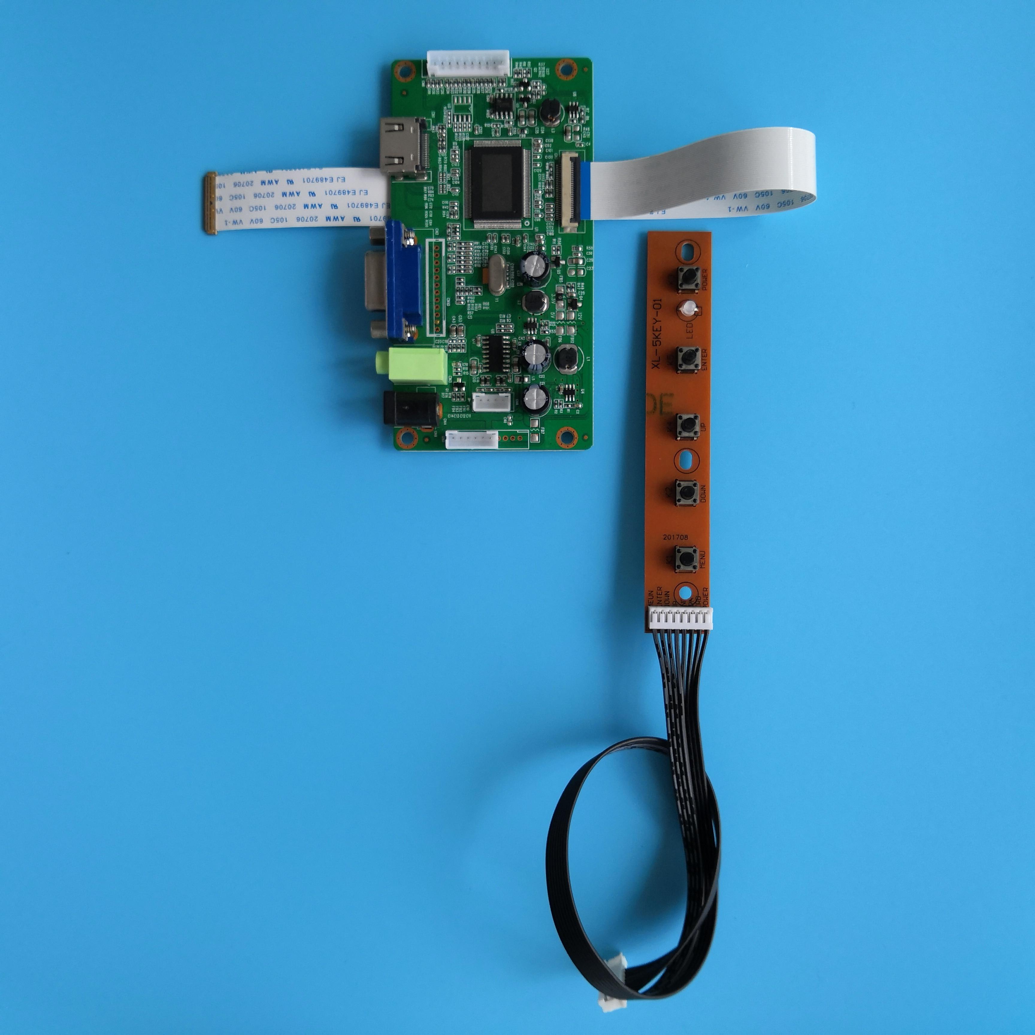 ل B116XTN02.2 شاشة EDP سائق مراقب 1366 × 768 30Pin عدة عرض LED VGA تحكم مجلس LCD لتقوم بها بنفسك EDP 11.6
