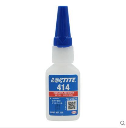 2 قطعة loctic 414 اللزوجة المنخفضة ، الترابط الفجوة الصغيرة ، لاصق البلاستيك للأغراض العامة ، لاصقة فورية