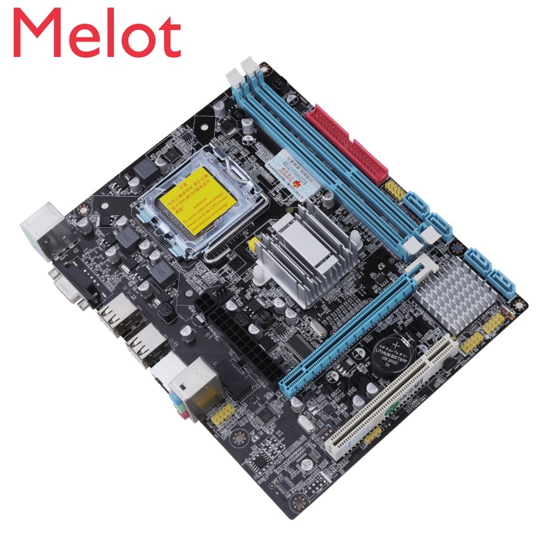 China Computer G41 CPU Pin Quad-Core Set Display 4G Memory 771775