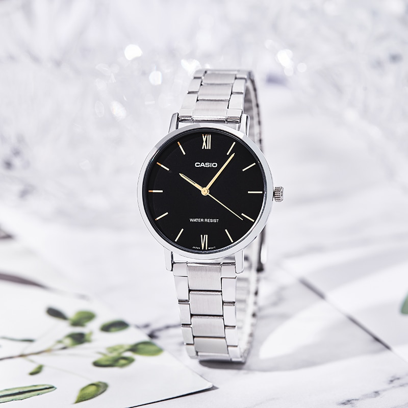 Casio watch women watches top brand luxury set Quartz watch women ladies watch business reloj mujer LTP-VT01L-1B enlarge
