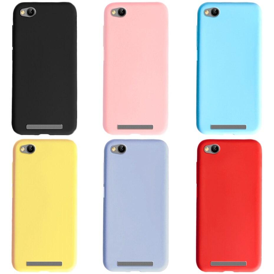 for Xiaomi Redmi 4A Case Cover Soft Matte Phone Case on Redmi 4A Case Bumper Coque For Fundas Xiaomi Redmi a4 4A 5.0' Back Cover