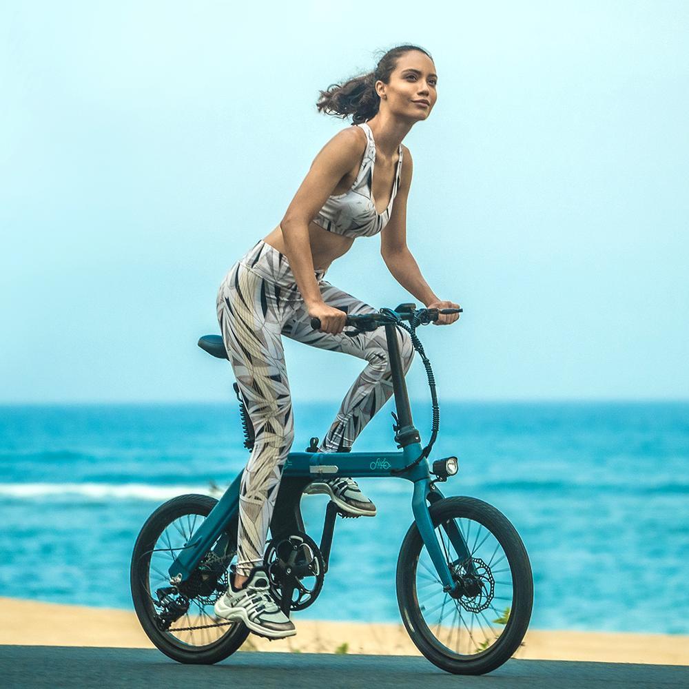 FIIDO-Bicicleta eléctrica plegable de 7 velocidades para adulto, D11, 36V, 11,6ah, 25...