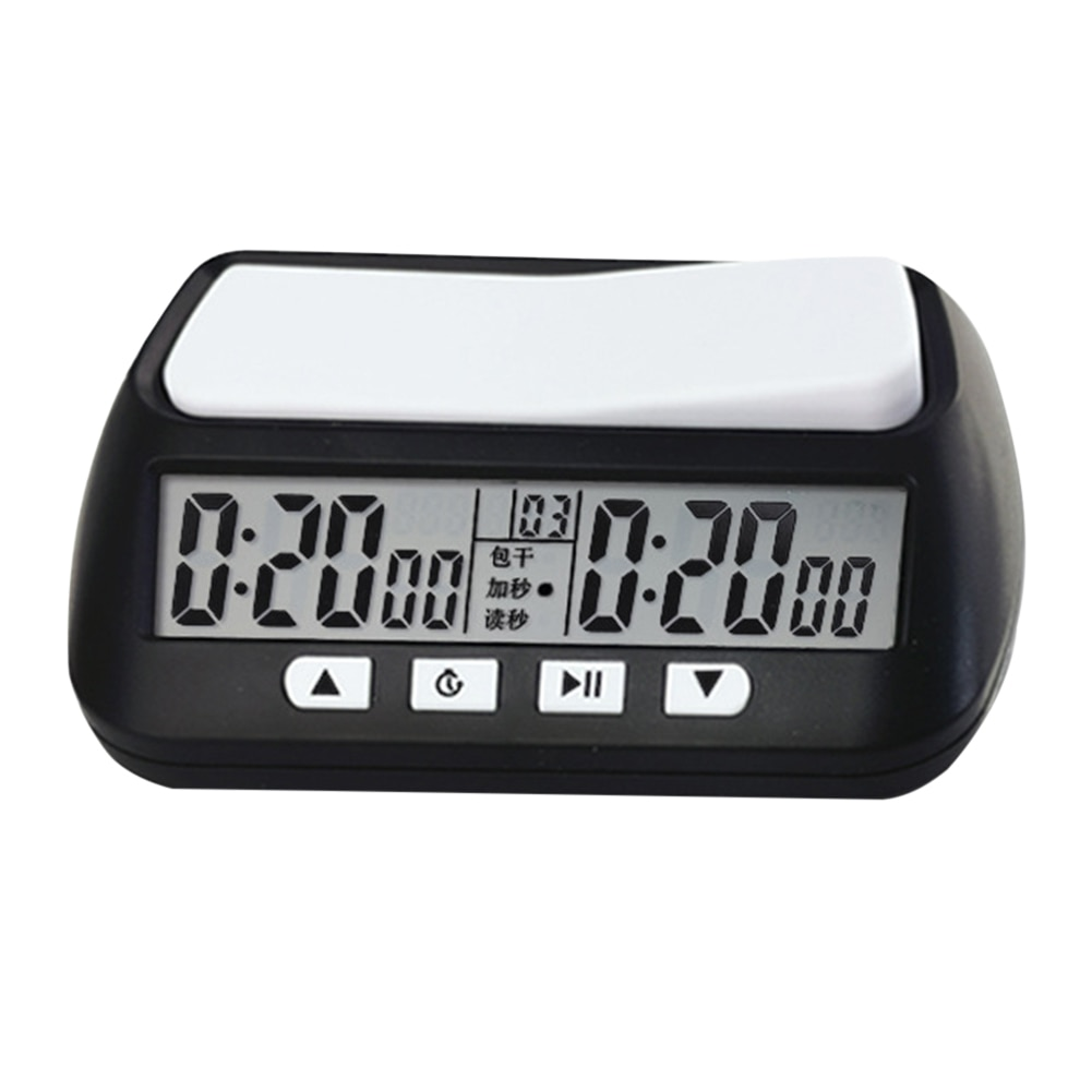 Professionelle Schach Uhr Digitale Uhr Count Up Down Timer Bord Spiel Stoppuhr Digital Count Down Up Schach Spiel Stoppuhr