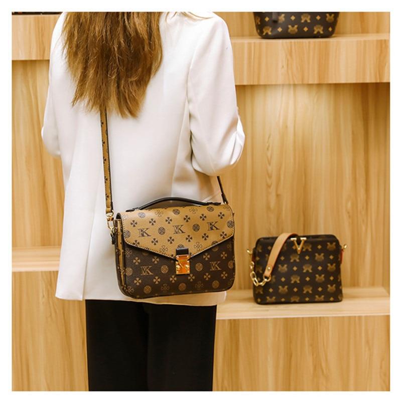 Vip حقيبة يد فاخرة جلد العجل صندوق جلد طبيعي المحافظ جودة عالية حقائب كروسبودي الموضة الصغيرة مصمم العلامة التجارية حقيبة كتف