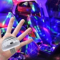 multi color usb led car interior lighting kit atmosphere light neon colorful lamps interesting portable car interior accessories