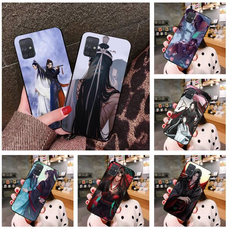 Mo Dao Zu Shi Lan Zhan Wei Ying caso de teléfono para Samsung Galaxy A21S A01 A11 A31 A81 A10 A20E A30 A40 A50 A70 A80 A71 A51