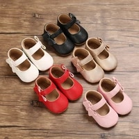 new baby girls first step shoes baby moccasins soft bottom rubber non slip toddler first walkers baby booties girls shoes