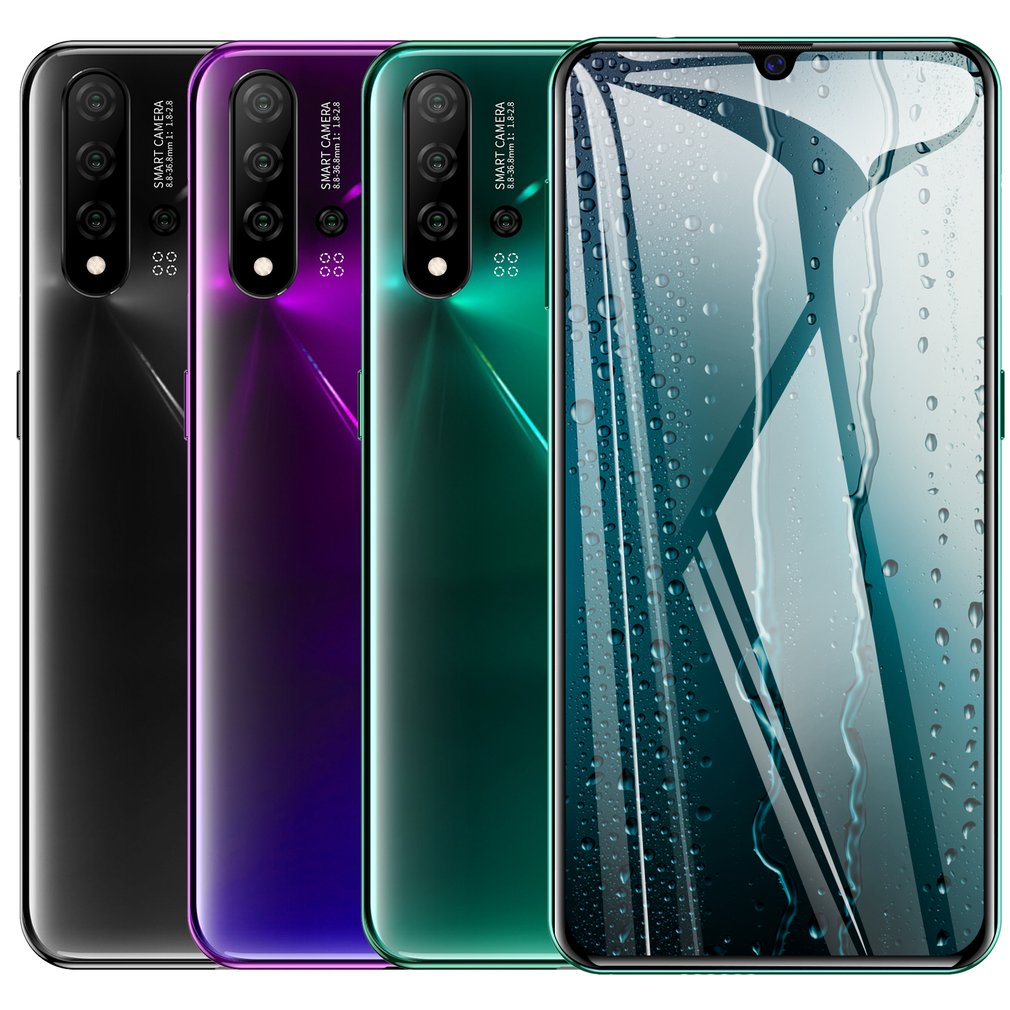 N5 Pro Large Screen 6.3 Inch Water Drop Screen Smartphone 1+16G Memory Smart Mobile Phone Smartphone Unlock Cellphone