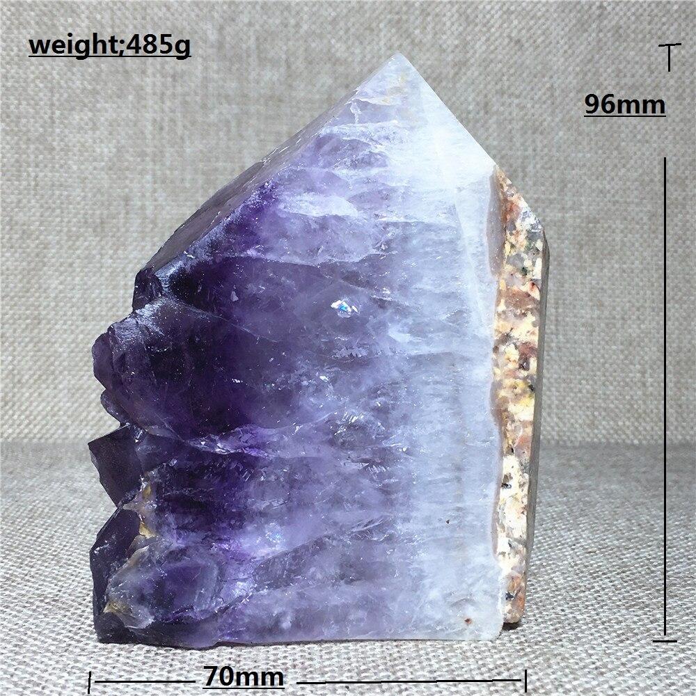 Натуральная башня, аметист, кварцевый кристалл, палочка, украшение дома, камень и Кристальный кристалл, стержень, колонна
