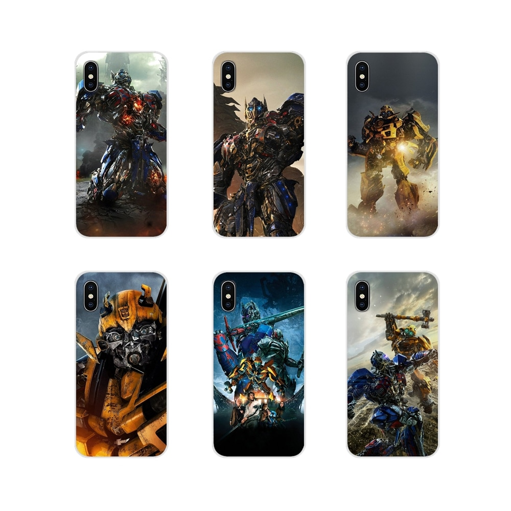 Fundas transparentes suaves para Samsung Galaxy J1 J2 J3 J4 J5 J6 J7 J8 Plus 2018 Prime 2015 2016 2017 Transformers, Diseño Fotográfico