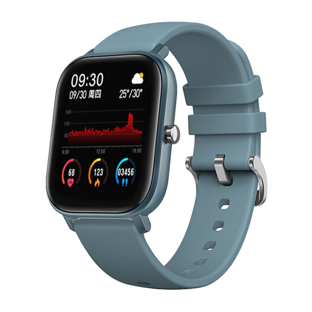 Reloj inteligente 2020 P8 IP67, Monitor de ritmo cardíaco de deporte a prueba de agua, Smartwatch táctil completo para Xiaomi Huami Amazfit Gts