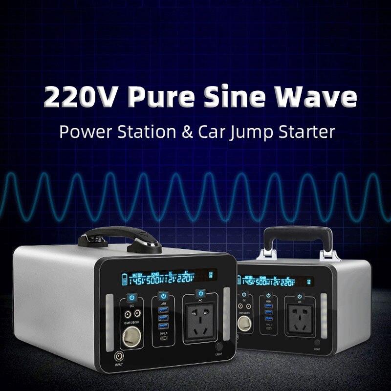 270000mah 110 فولت/220 فولت محطة الطاقة سوبر سوبر قدرة عالية بطاريات ليبوليمر للخارجية 1000Wh الشمسية العاكس مولد
