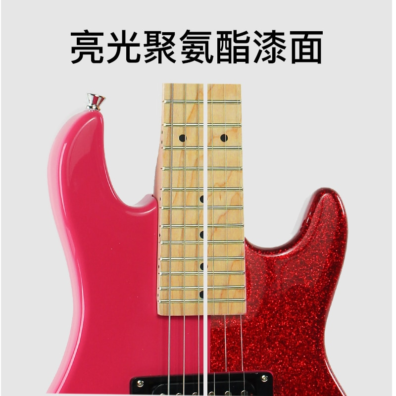 Accessories Electric Guitar Trainer Gifts Solid Rosewood Electric Guitars High Quality Violao Eletrico Music Instruments DL6DJT enlarge