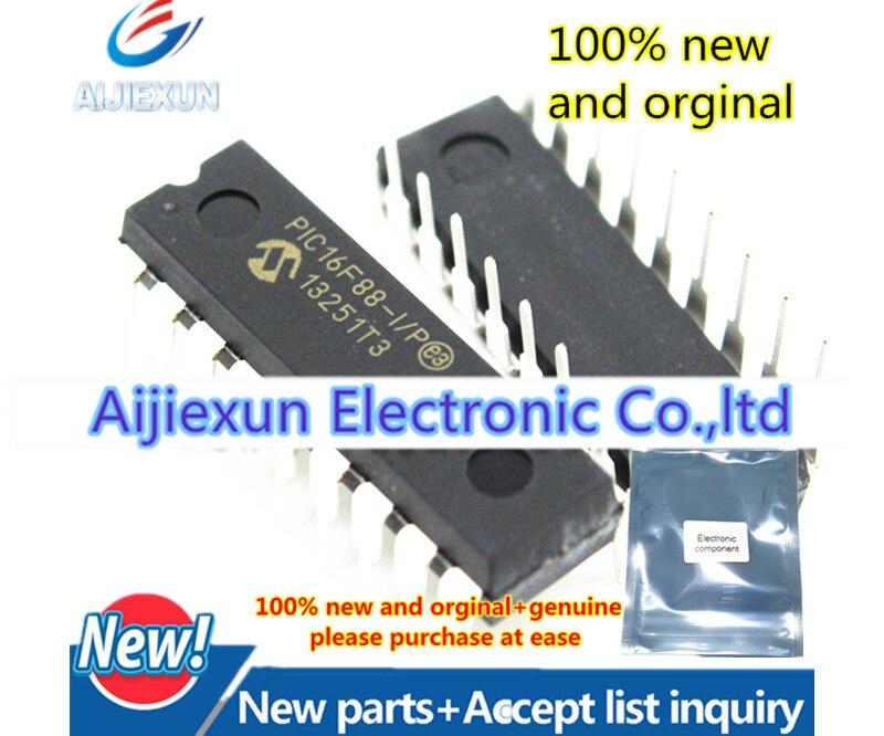 5 piezas 100% nuevo y original PIC16F88-I/P DIP18 18/20/28-Pin mayor microcontroladores FLASH en stock