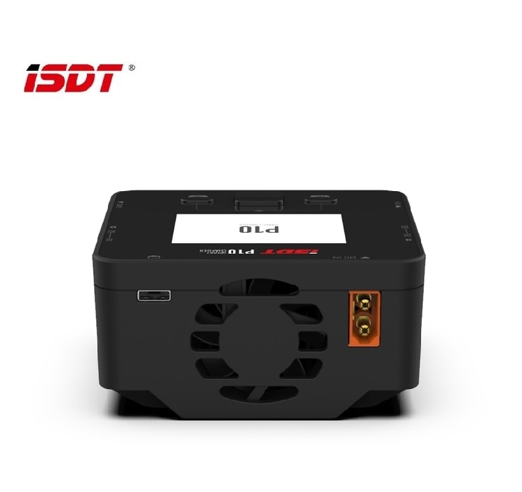 ISDT P10 250WX2 cargador de equilibrio de batería de doble canal para 1-6S batería Lipo modelos RC Dron de carreras con visión en primera persona