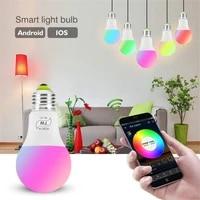 7W E27 RGB WIFI Led Intelligente Birne Licht Wireless Smart Home Automation Lampe 100-240V lampe Kompatibel mit ALexa Google Hause
