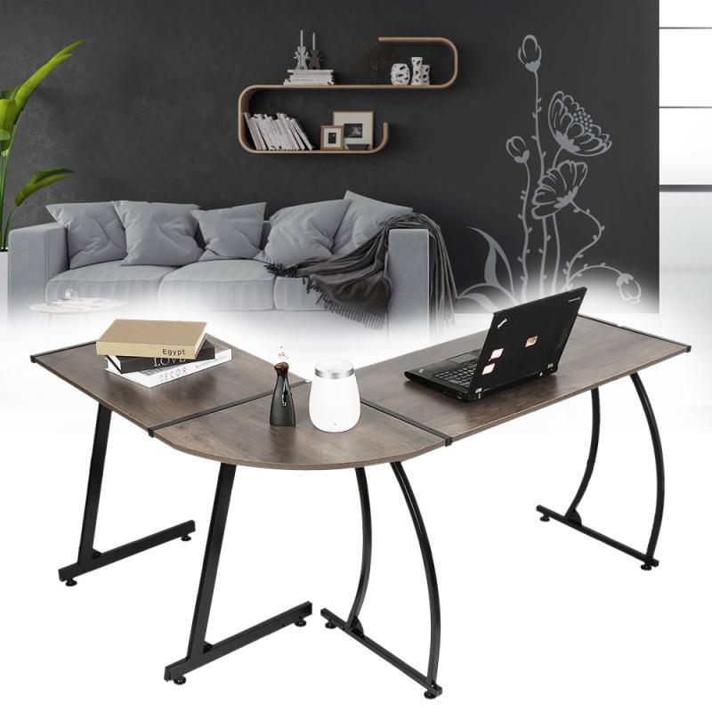 1 шт. Г-образный угловой стол, компьютерный стол, рабочая станция, стол для письма, современный Настольный стол, учебный стол, мебель для дома ...