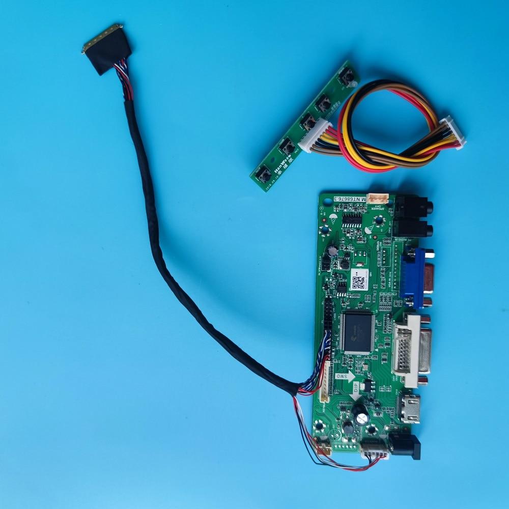 عدة ل B156XTN03.2/3.4/3.0 رصد DVI لوحة LED LCD 15.6