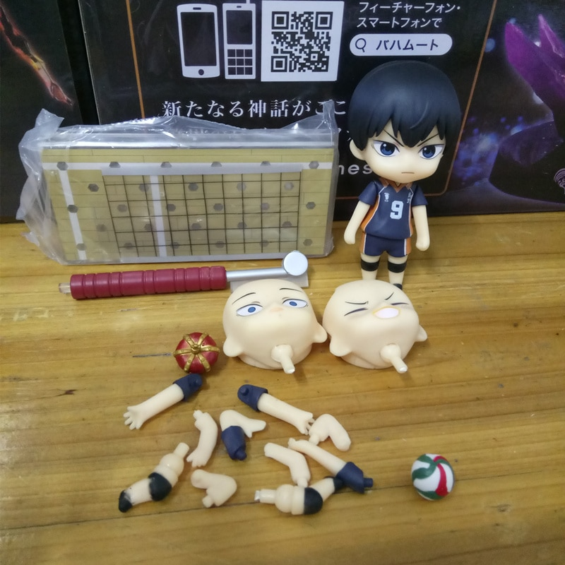 Anime Haikyuu Kageyama Tobio PVC figurine à collectionner modèle poupée jouet 10cm 489 #