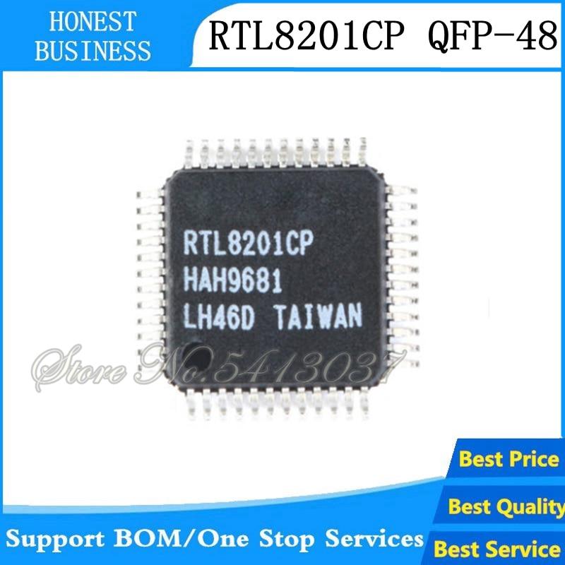 2 uds RTL8201CP RTL8201 QFP-48 Chipset original