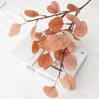 Plante verte artificielle deucalyptus  fausse couronne pour Bouquet de mariee  accessoire de photographie  decor de maison et de bureau