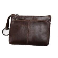 Vintage Miniกระเป๋าหนังแท้กระเป๋าสตางค์ผู้หญิงกระเป๋าซิปสั้นกระเป๋าสตางค์ขนาดเล็กเหรียญกระเป๋...