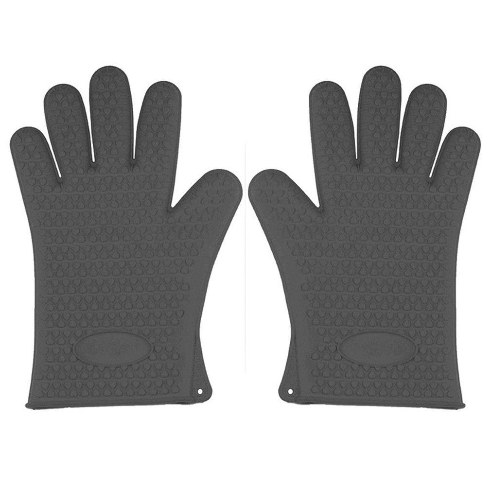 Жаропрочные перчатки для приготовления пищи, необходимый инструмент для выпечки, перчатки для улицы