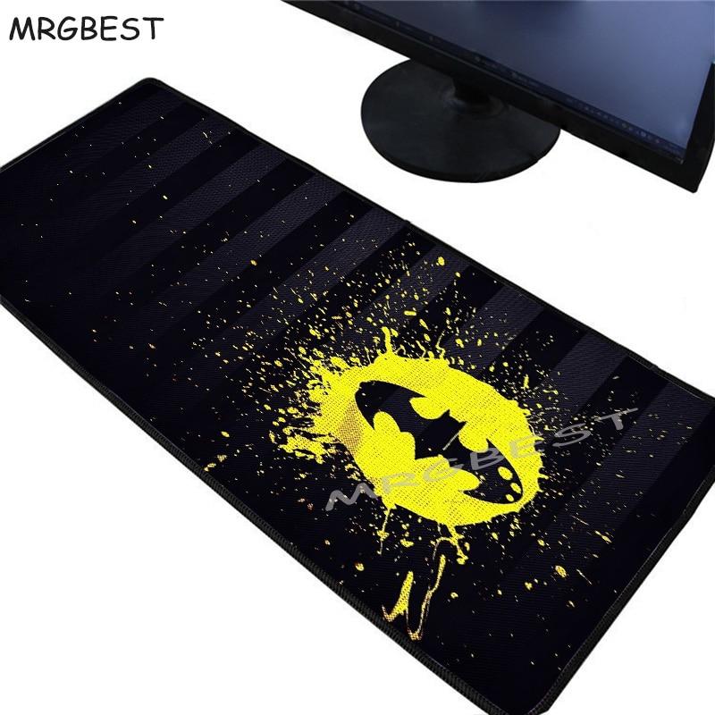 Alfombrilla de ratón grande MRGBEST para Gaming, alfombrilla de caucho para ratón, superficie Logo de Star Wars, alfombrilla de escritorio para teclado PadMause Lol Xxl