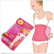 Reusable Slimming Fat Burner Belt Wrap Anti Cellulite Waist Belly Shaper Weight Loss Products Women