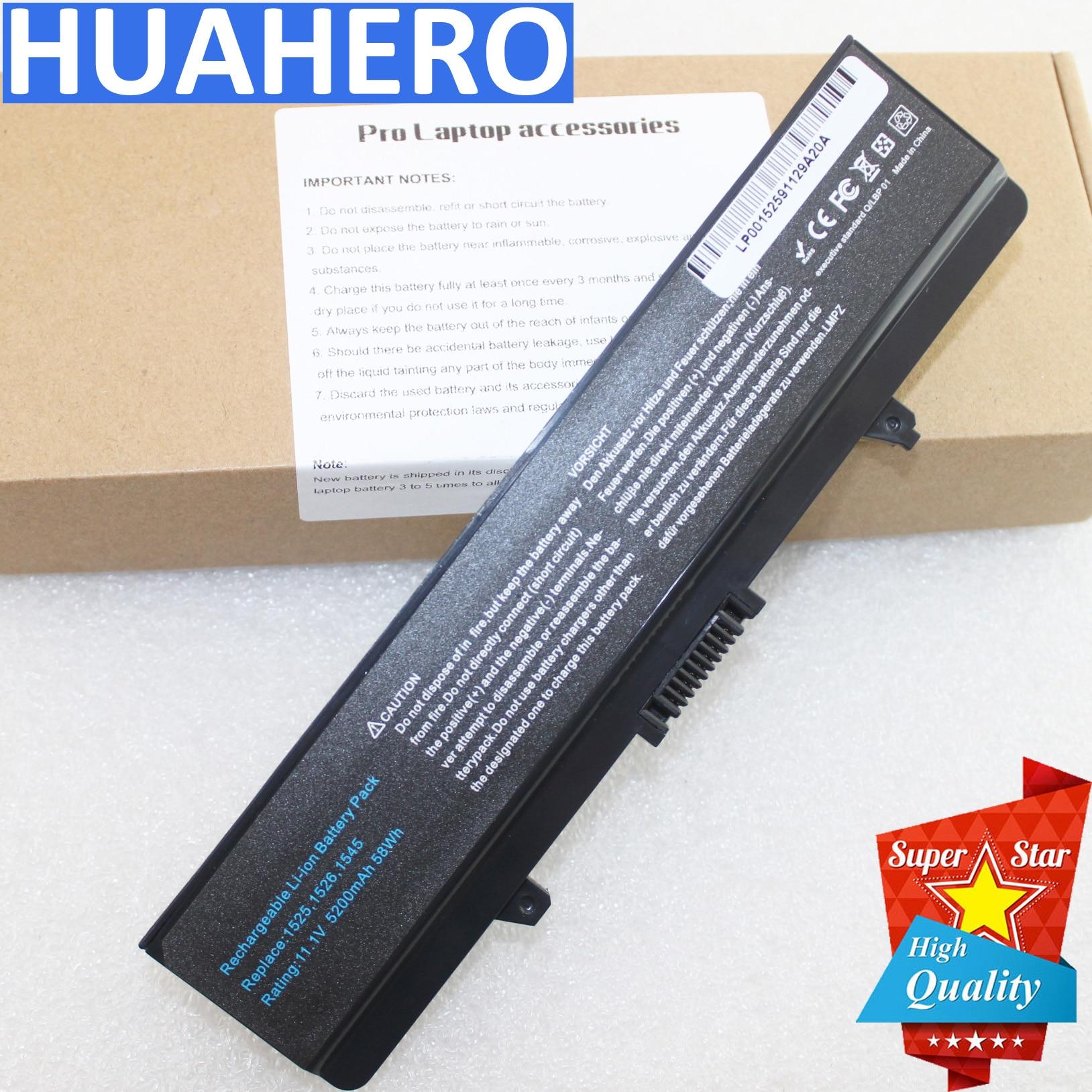Battery for Dell Inspiron 1525 1526 1440 1545 1546 1750 laptop GW240 X284G RN873 XR682 GW241 XR693 HP277 XR694 HP297 XR697 CR693