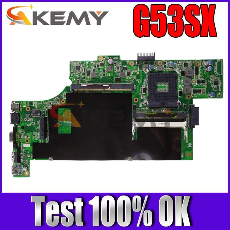 G53SX 4 الذاكرة فتحة اللوحة الرئيسية ل ASUS G53SW G53S VX7 VX7S G53SX اللوحة الأم للكمبيوتر المحمول اللوحة الرئيسية
