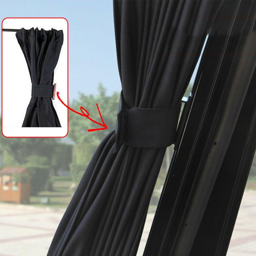 2 uds, parasol plegable para coche, protección UV, parasol para ventana lateral de coche, cortina de parasol para parabrisas de verano para coche, películas para ventana de coche