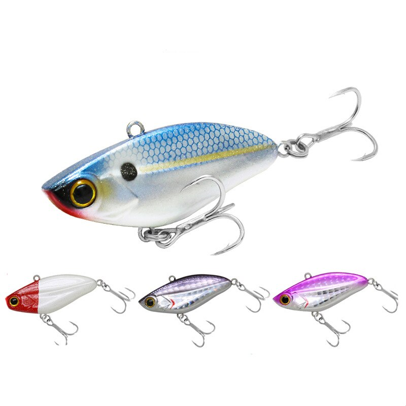 fishing lure 2020 VIB metal swimbait slow jigging bass fishing black minnow carp trout top water lure wobbler Fishing Tackle kit enlarge