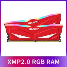 New arrival Gloway RAM RGB  DDR4 8GBX2  16GB 3200MHz RAM DIMM 288-pin Desktop