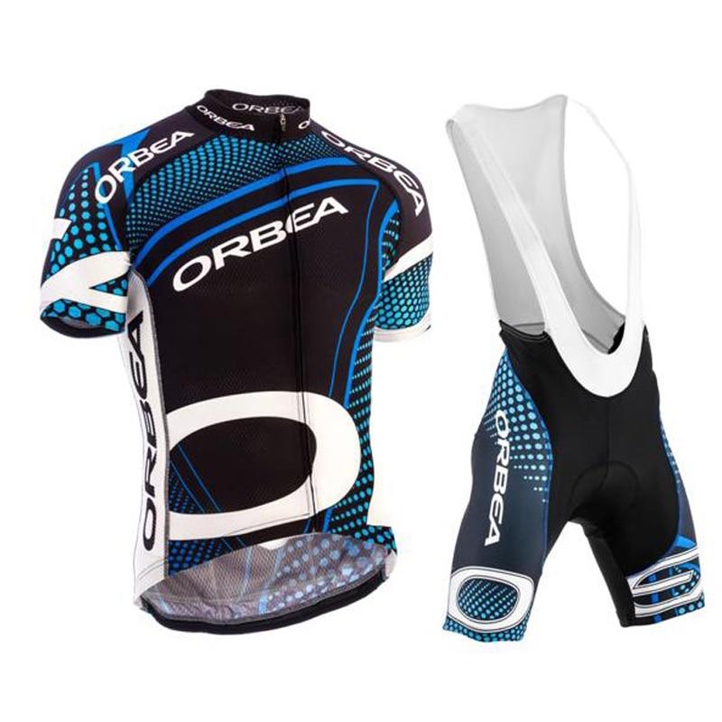 ORBEA-Ropa de Ciclismo para hombre, Kit de Ropa transpirable de manga corta,...