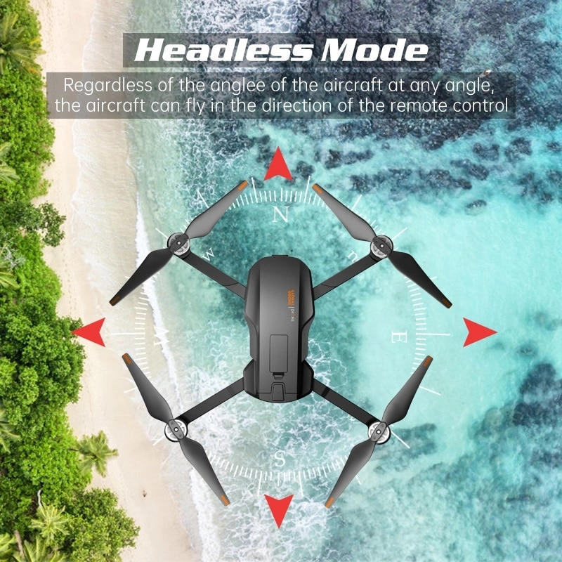 2021 NEW GD91Max Drone 6k GPS 5G WiFi 3 axis Gimbal Camera Brushless Motor Supports 32G TF Card Flight 28 min VS F11 PRO Drones enlarge