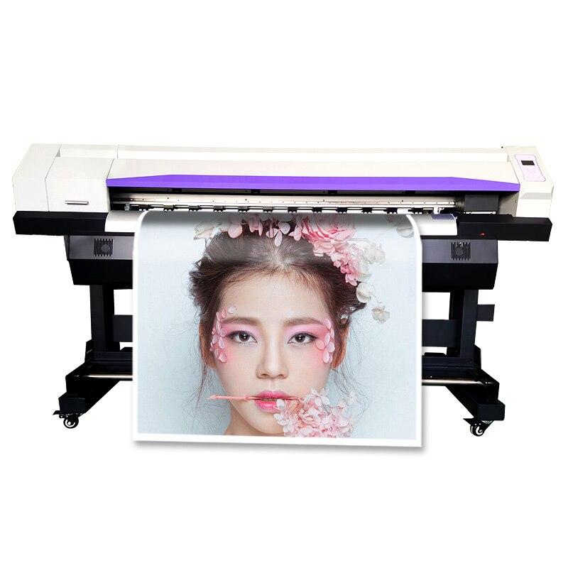 Machine dimpression de signe grand Format Xp600 tête 1.6 M jet dencre auto-adhésif imprimante de vinyle Dx7 Dx5 imprimante