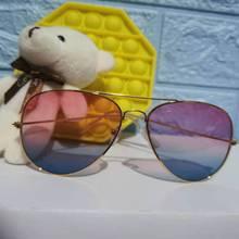 Classic Alloy Sunglasses Women Brand Designer Sunglasses Goggle Sun Glasses for Men Vintage Metal Su