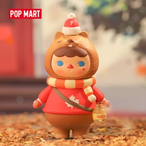 POP MART Pucky Beaver Baby Canada Limited Edition For Art Toys Figure Collection