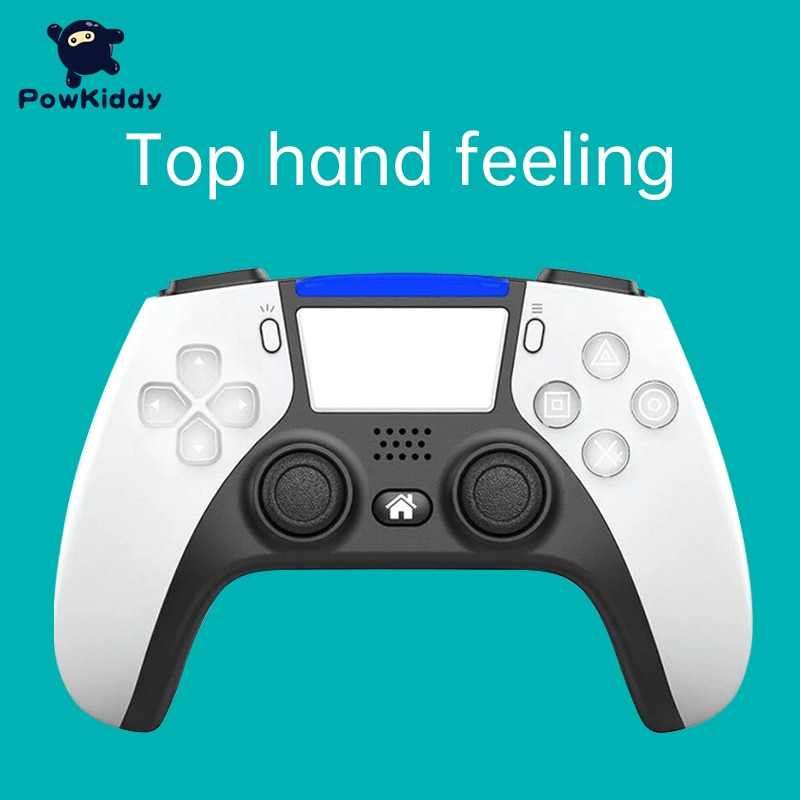 Controlador de Jogo sem Fio Lidar com Bluetooth Powkiddy Novo Modelo Privado Ps4 4.0 P02