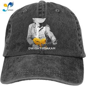 Dwight 2018 2019 Yoakam Hajarbleh Unisex Cowboy Hat Cotton Adjustable Casquette Cap Black