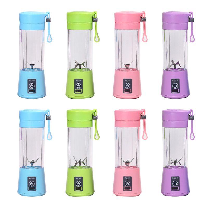 4/6 Blades Portable Blender Personal Mixer for Smoothie Fruit Juice Milk Shakes JonesHome appliances