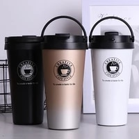 500ml stainless steel coffee thermos water bottle portable bpa free water drinking bottle for office tea thermos for coffee