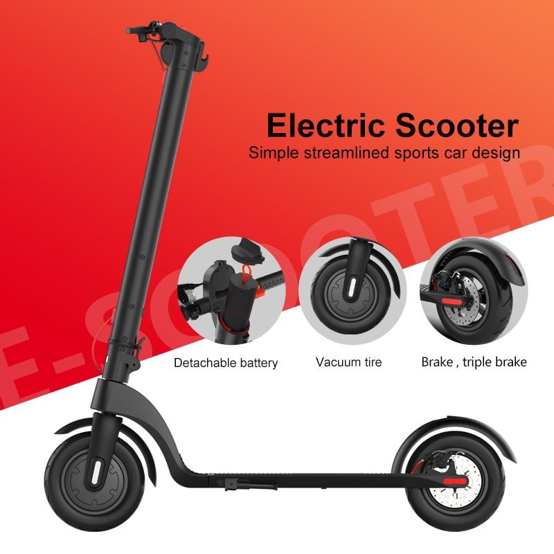 2020 nuevo eléctrica plegable e- Scooters adultos Scooter con Motor de Centro...