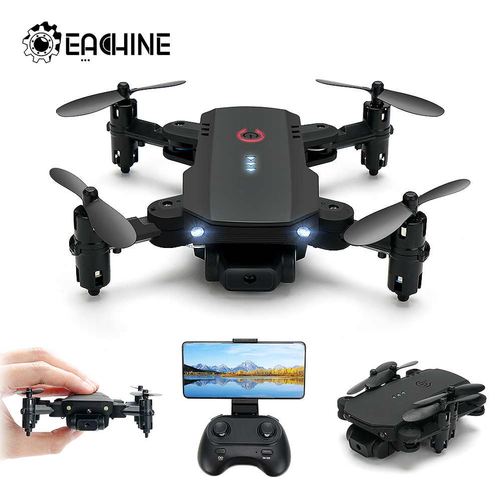 Eachine D83 RC Drone Mini Quadcopter Dron FPV With 2.4G Wifi HD Camera Altitude Hold Foldable Plane