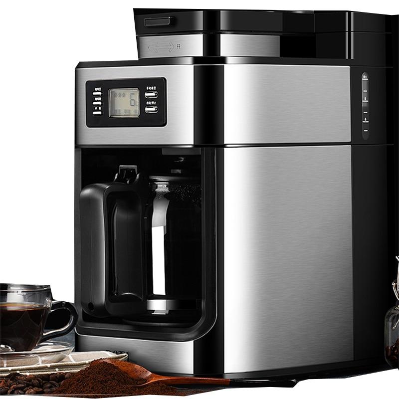 PE3200 Automatic American Coffee Machine Home Grinding Machine Coffee Machine Bean Powder Dual-use Small Coffee Machine