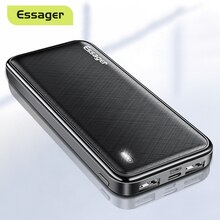 Essager 10000mAh Power Bank Portable Charging External Battery Charger Pack 10000 mAh Powerbank For