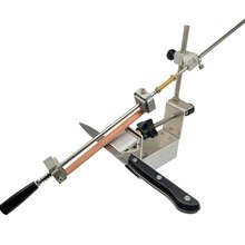 Promotion Knife Sharpener Sy-002 Professional Sharpening System diamond sharpening stone whetstone 200# 500# 1000# leather
